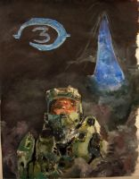 Master Chief Painted by Vo1ta