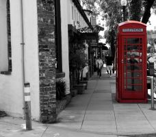 Telephone Booth by Jesse-Lynne