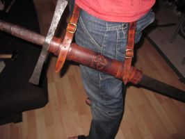 Sword holder by akinra-workshop