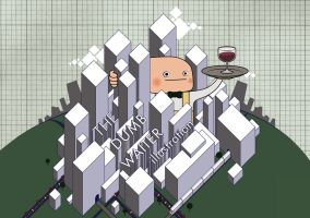 the dumb waiter illustration by the-dumb-waiter
