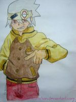 Soul Eater Evans by yitz-chan