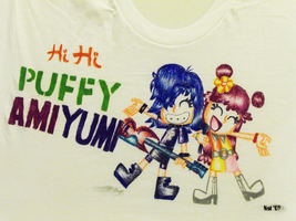 Hi Hi Puffy Ami Yumi Tee by NatPal