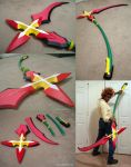 Marluxia's scythe prop by fevereon