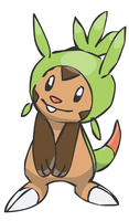 Chespin Doodle by sunnyfish