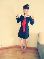 School lolita dress by mysexyzentai