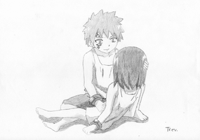 Young Jellal and Erza by LTrevill