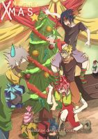 Team 7 - The Natural Christmas Ladder by TopazShrine