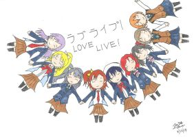 Love live chibi by shade1995