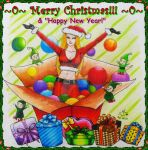 Merry Christmas and Happy New Year 2014 by AmAnchalee
