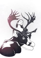 Caribou Whisperer by Aspis