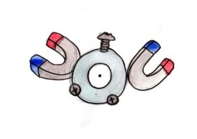 Magnemite by Hunchdebunch