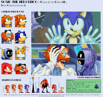 Sonic ChotGH - Sprite Compilation (part 1) by Liris-san