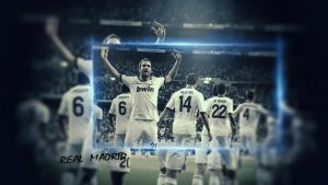 Wallpaper Real Madrid by Mr--RoGeR