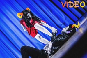 Cronus Ampora and Damara Megido cosplay VIDEO! by Dead-Batter