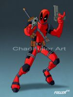 DEADPOOL by Chadfuller