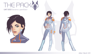 The Pack: Daciana Lupei by WesTalbott