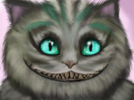 Cheshire Cat by fel0-de-se