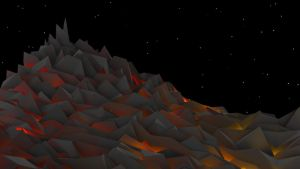 Pixelated Lava by Cashman882