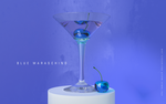 BLUE MARASCHINO - Glass Cherry by THE-LEMON-WATCH