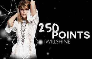 2 5 0  POINTS by AHTZIRIDIRECTIONER