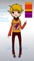 Custom for MusicalArtist12 by Spiral-Teardrop