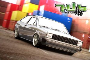 VW Gol BX by cravacargutubin