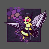 FTM: Poison - Beedrill, 'Misery' by Bummerdude