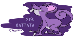 019: Rattata by Speedvore