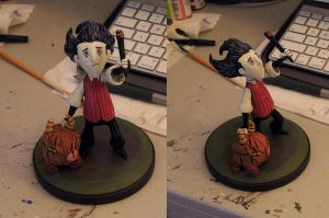 Don't Starve - Wilson and Chester by MLPEndlessNight