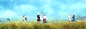 Hetalia: Baltic to Black Sea Friendship by AtreJane