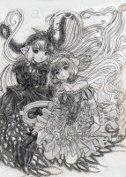 Chobits Fanart 2002 by SparkletteMachina