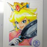 Princess Peach + YouTube link by theCHAMBA