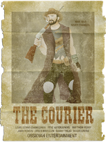 The Courier Poster by TheDalishRanger
