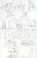 Enter the Dragon-pencils by jerryma
