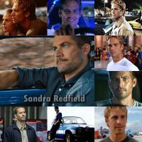 Paul Walker - Brian O'Conner by SandraRedfield