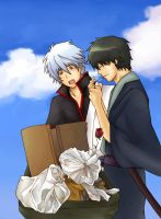 Gintama: Polychromatic Days by hikariix