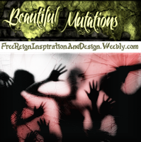 Beautiful Mutations ~ Breaking Though Background by VelmaGiggleWink