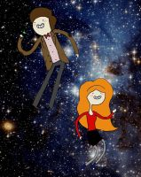doctor and amy in the void by EGLemming