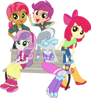 CMC, Babs Seed, and Silver Spoon by punzil504