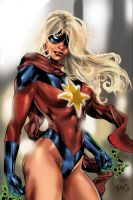 Miss Marvel Benes Color by Inhuman00