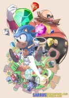 SONIC The Hedgehog by sarrus