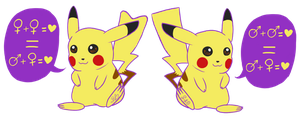 Pika! (Spirit Day 2012) Sticker by ColorMyMemory