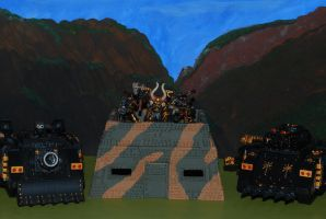 Iron Warriors Siege Masters by 12jack12