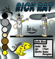 Rick Rat Reference by RatteMacchiato