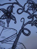 Orchid, detail by GingerBedlam