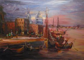 Venice by Khurzen