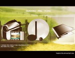 Pandora PNG Icons by TomRichter
