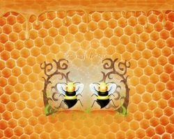 Bee my friend by LillemorGull