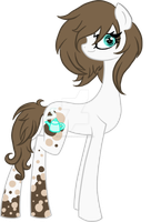 Cocoa Cream (MLP OC) by LillyCheese