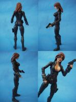Custom Marvel Legends Black Widow Full View by cusT0M
